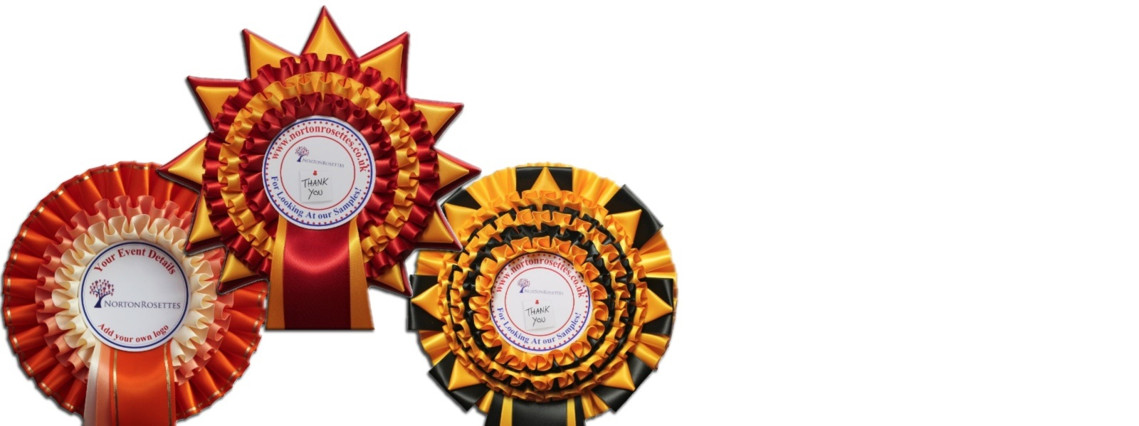 Worldwide shipping on all of our rosettes