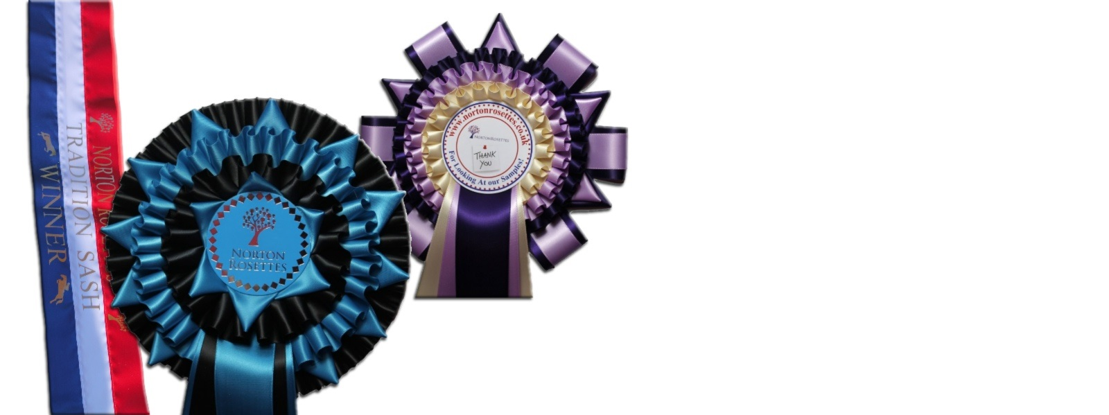 Rosettes sample box available on request